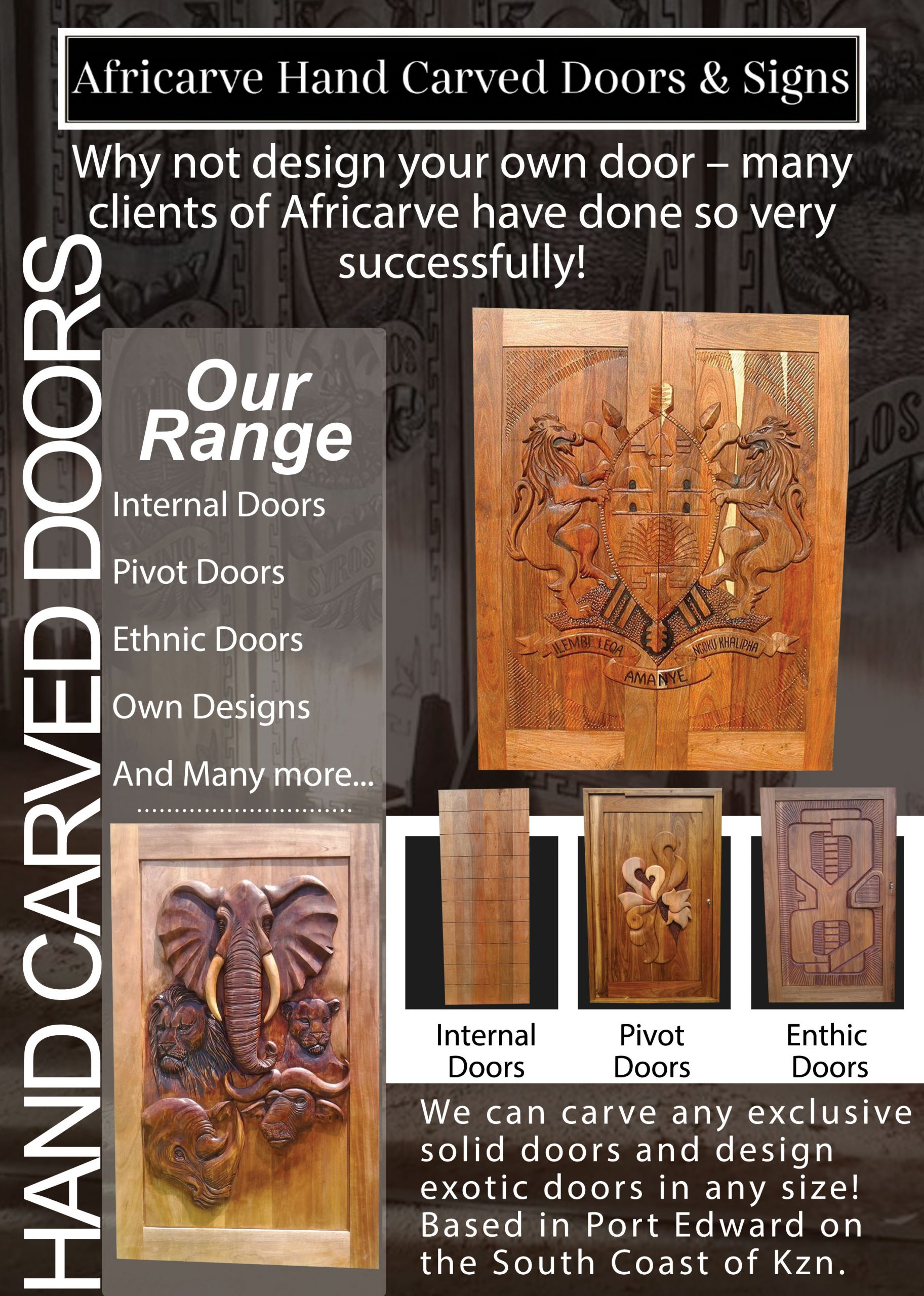 Door Post scaled - Africarve Hand Crafted Doors and Church Furnishings