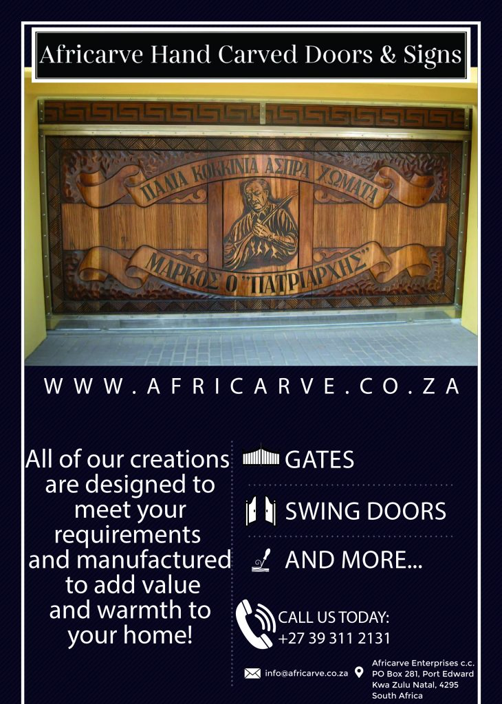 Africarve March 2nd 2020 - Africarve Hand Crafted Doors and Church Furnishings