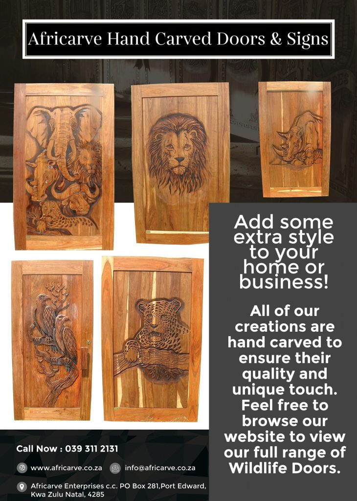 Aricarve March 16th 2020 - Africarve Hand Crafted Doors and Church Furnishings