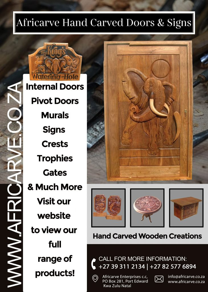 Africarve May 18th 2020 - Africarve Hand Crafted Doors and Church Furnishings