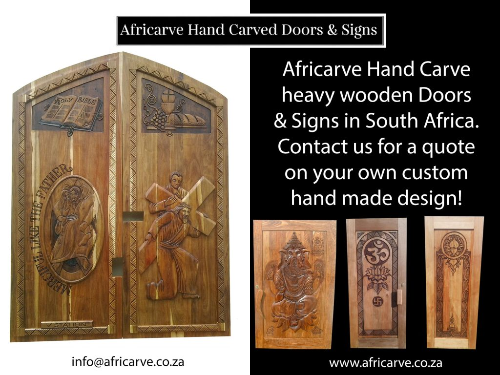 Africarve 8th June 2020 - Africarve Hand Crafted Doors and Church Furnishings
