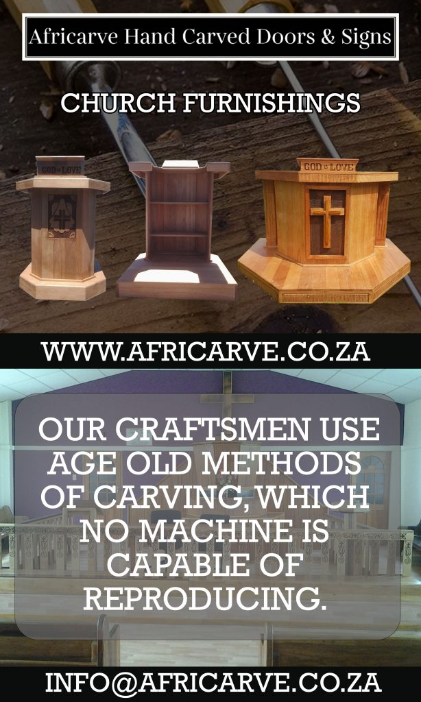 Africarve June 22nd 2020 - Africarve Hand Crafted Doors and Church Furnishings