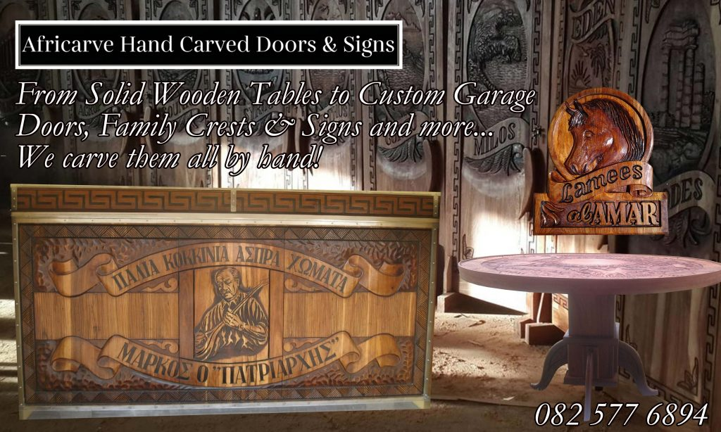 Africarve June 29th 2020 - Africarve Hand Crafted Doors and Church Furnishings