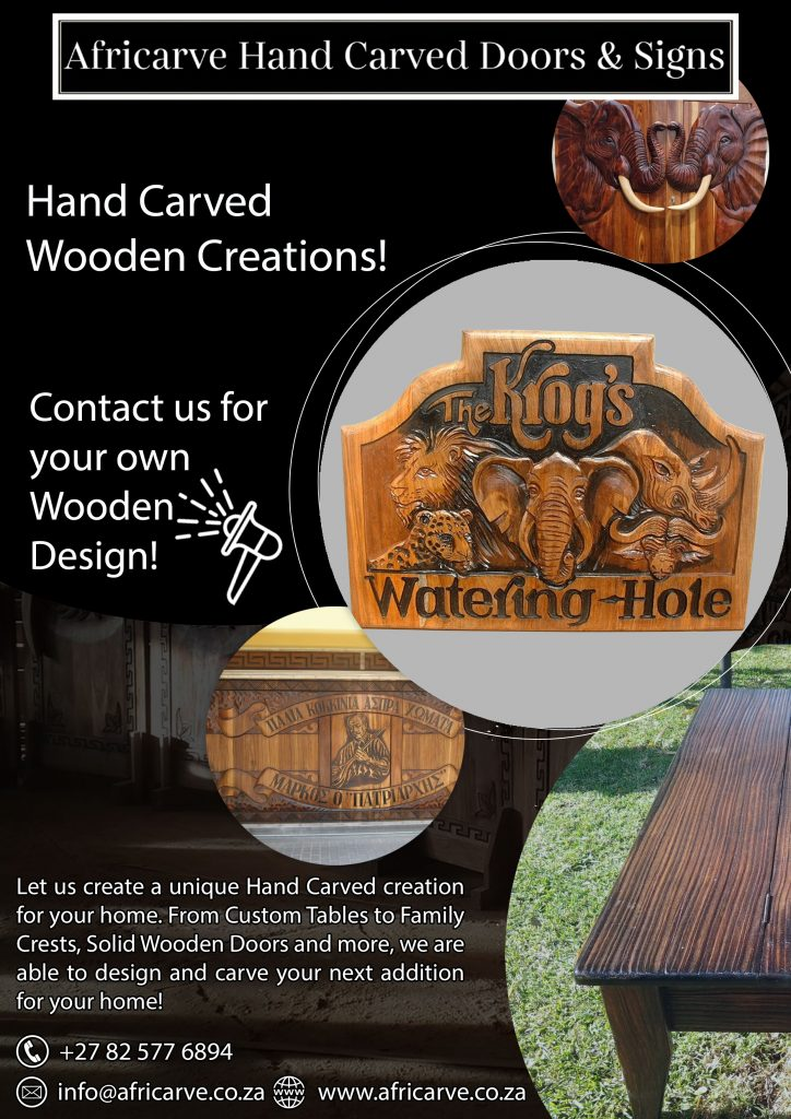 Africarve July 13th 2020 - Africarve Hand Crafted Doors and Church Furnishings