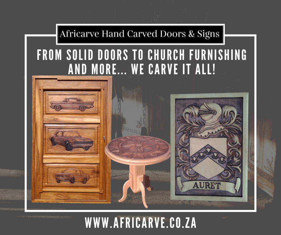 Africarve August 17th 2020 - Africarve Hand Crafted Doors and Church Furnishings