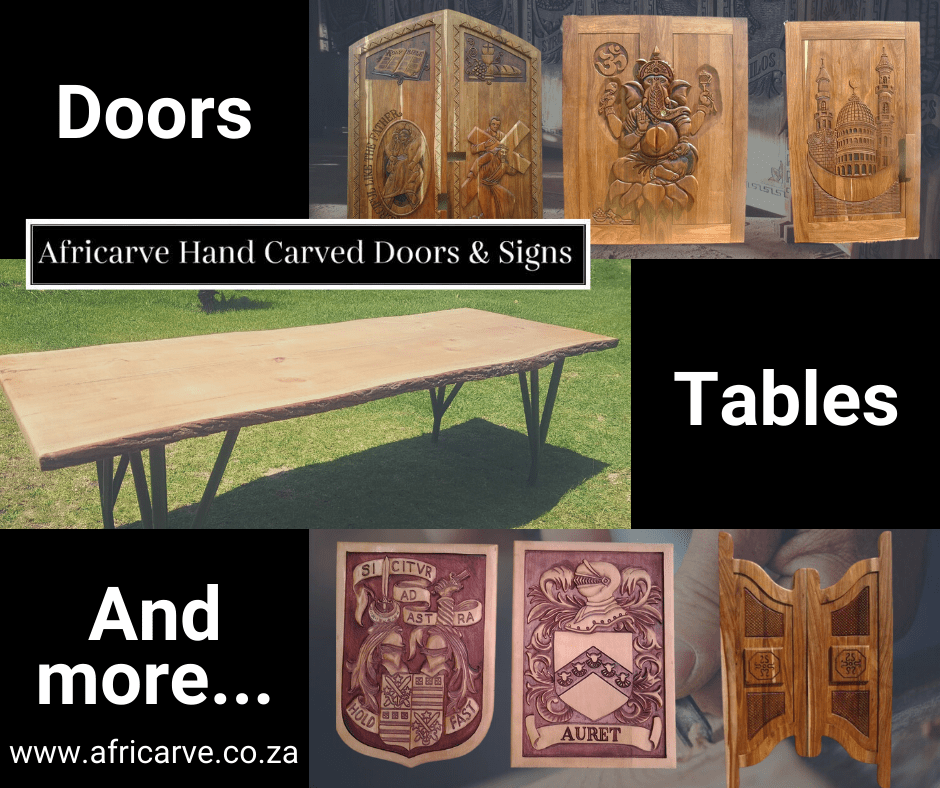 Africarve August 31st 2020 - Africarve Hand Crafted Doors and Church Furnishings