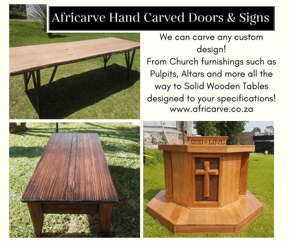 Afircarve September 21st 2020 - Africarve Hand Crafted Doors and Church Furnishings