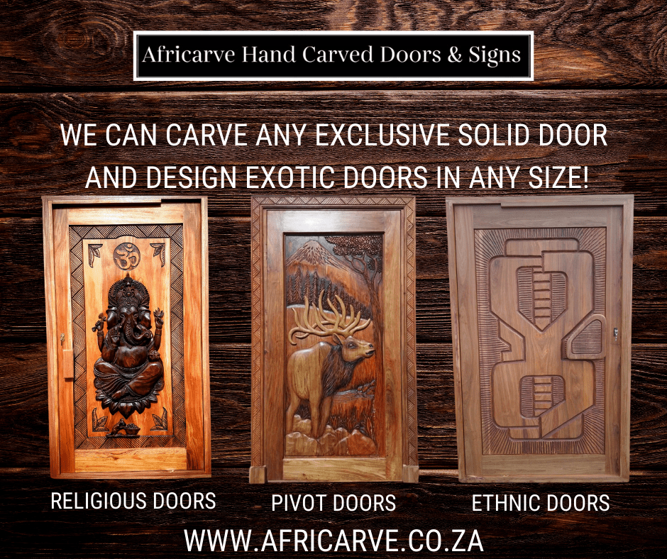 Africarve September 7th 2020 - Africarve Hand Crafted Doors and Church Furnishings