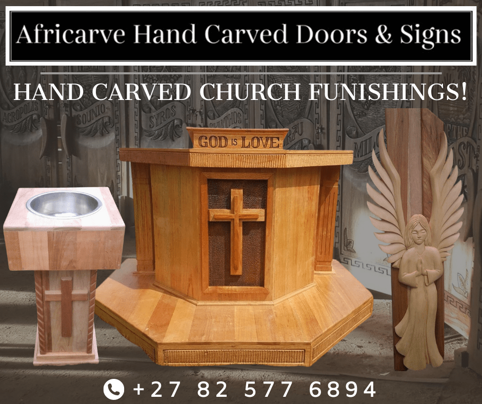 Africarve 19th October 2020 - Africarve Hand Crafted Doors and Church Furnishings