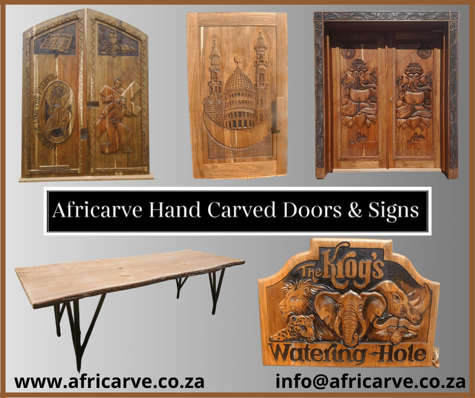 Africarve October 26th 2020 - Africarve Hand Crafted Doors and Church Furnishings