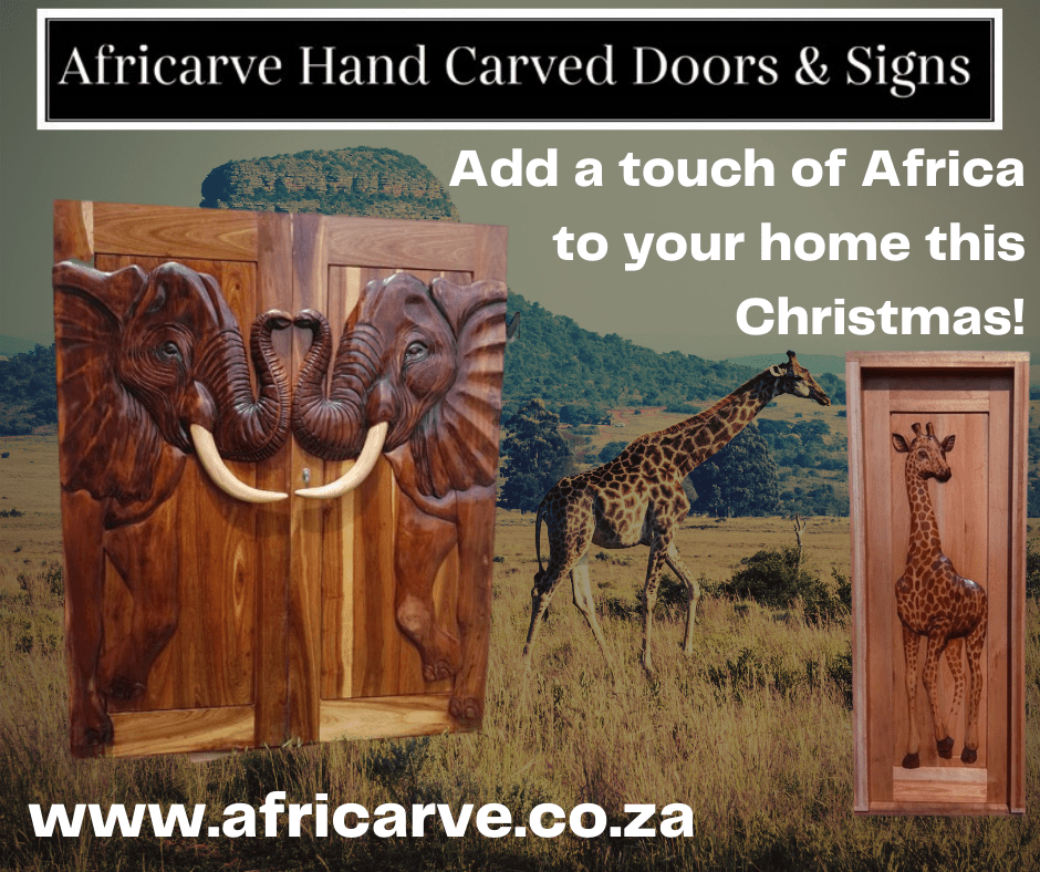 Africarve 16th November 2020 - Africarve Hand Crafted Doors and Church Furnishings