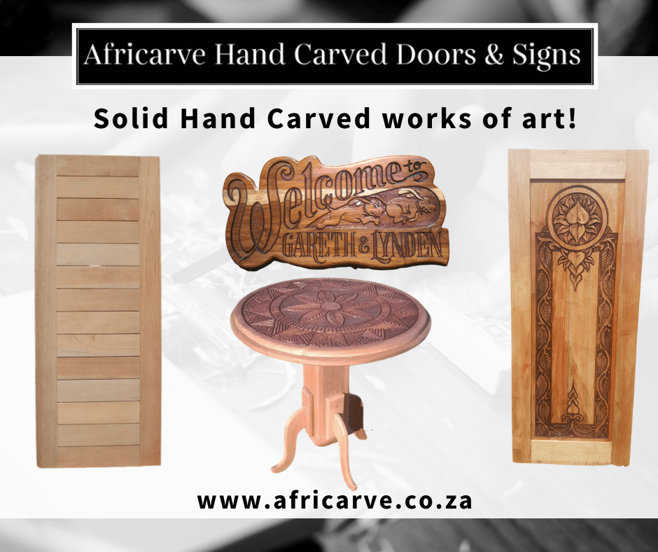 Africarve 30th November 2020 - Africarve Hand Crafted Doors and Church Furnishings