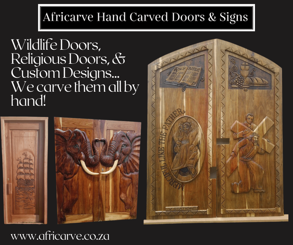 14th December 2020 - Africarve Hand Crafted Doors and Church Furnishings