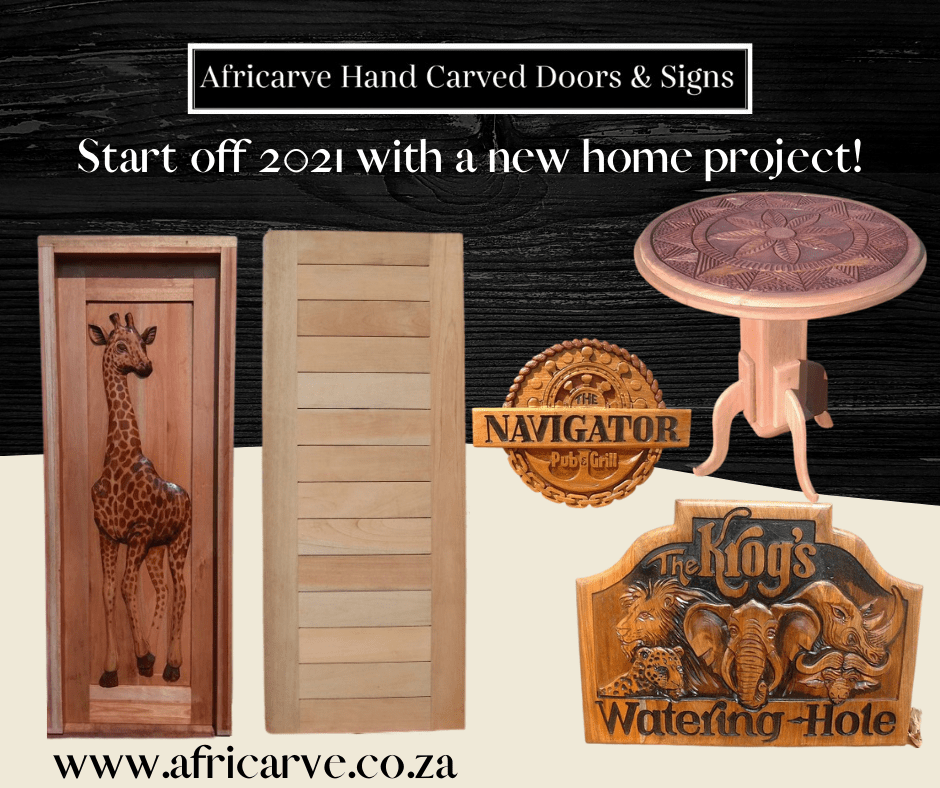 Africarve 28th December 2020 - Africarve Hand Crafted Doors and Church Furnishings